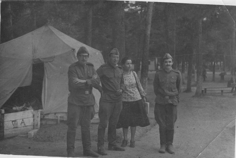 Военные лагеря 1979 г я г тестелец а н