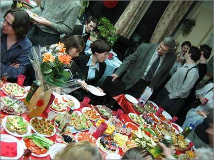 Банкет после защиты диссертации г лет ОТиПЛу Банкет после защиты диссертации 2006 г
